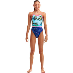 Funkita Single Strap Swimsuit Girls, bont